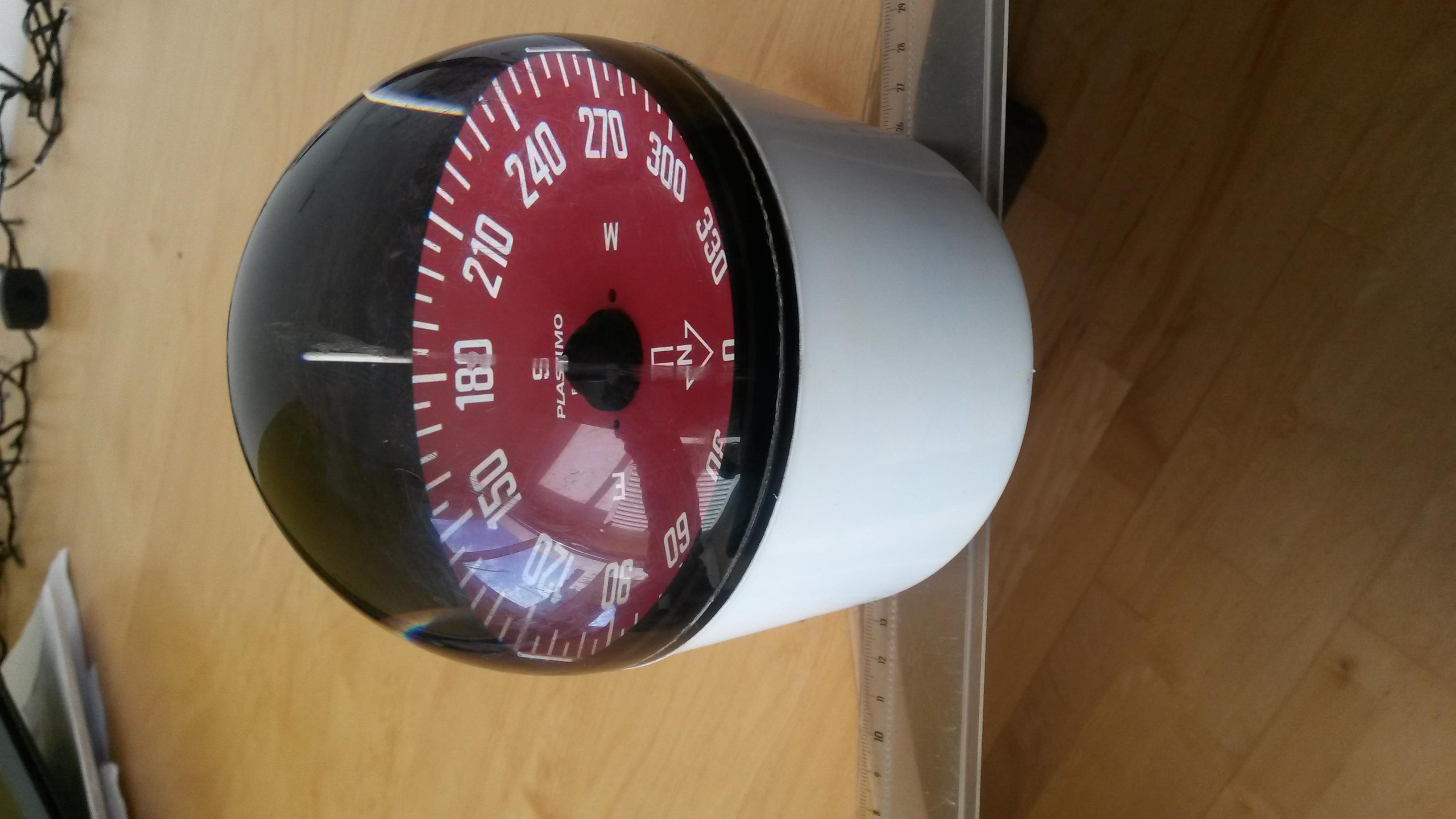 COMPAS OLYMPIC PLASTIMO 120MM SUR FUT