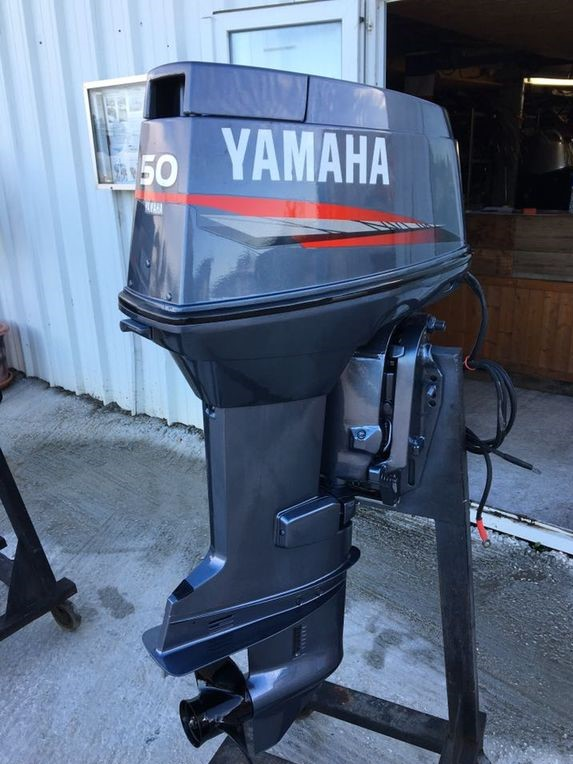 moteur yamaha 50cv 2temps arbre long