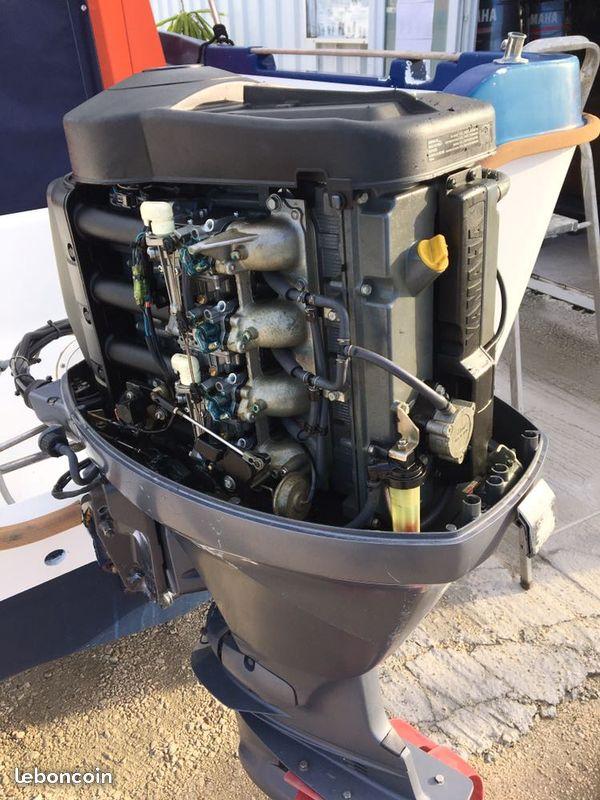 Bateau Beneteau timonier 5.55 motorisé yamaha 80cv 4temps