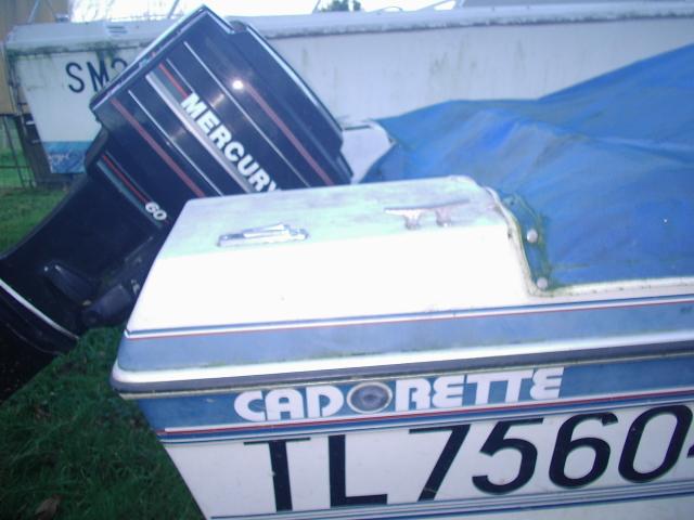 bateau CADORETTE 4M75