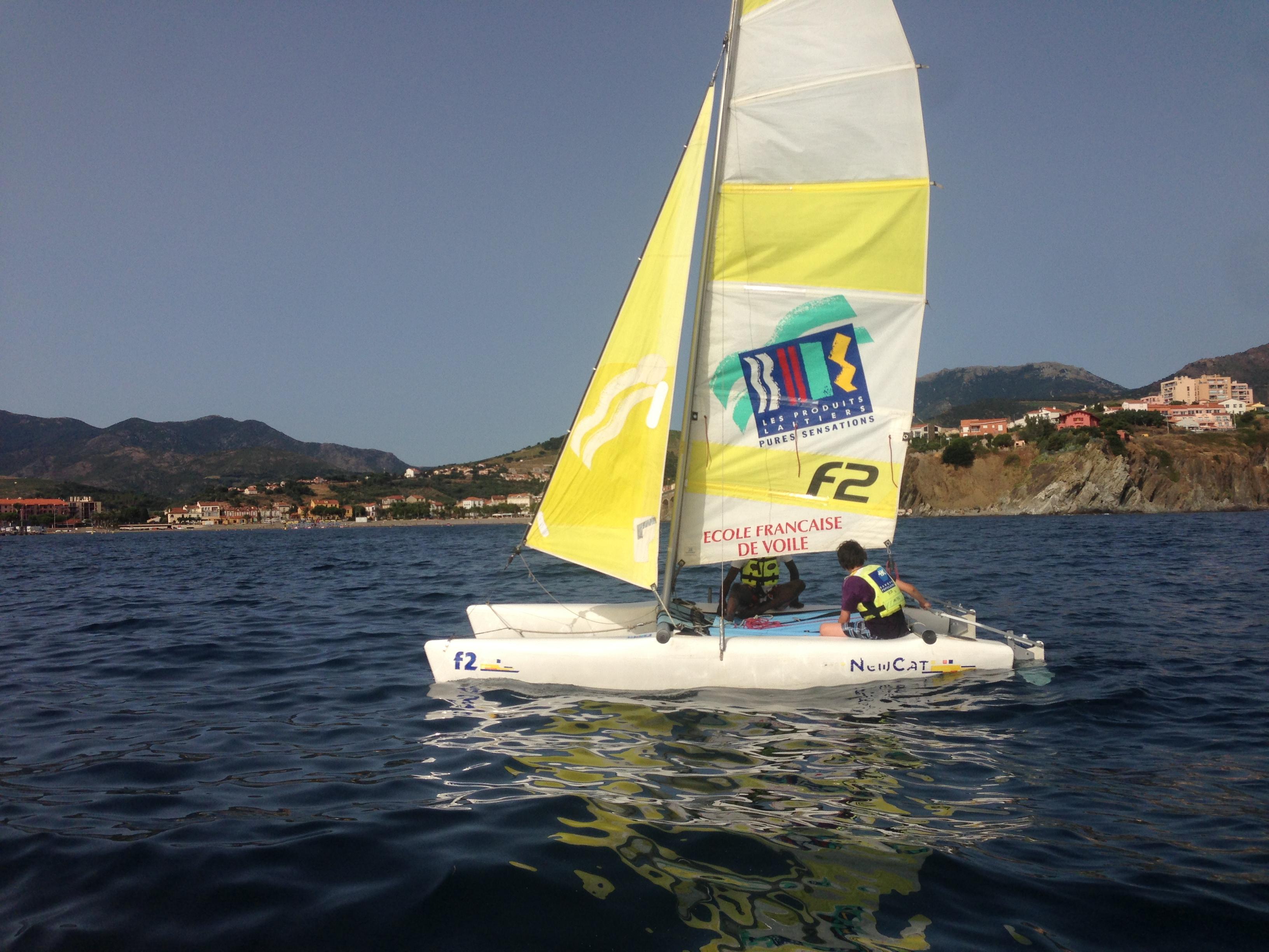 Catamaran newcat F2