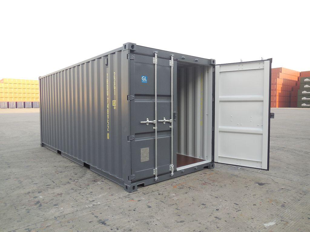 conteneurs neufs et d'occasion en stock