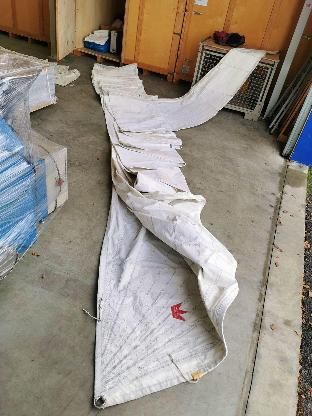 Génois Elvstrom sails latté Rolstrom de 48.5m²