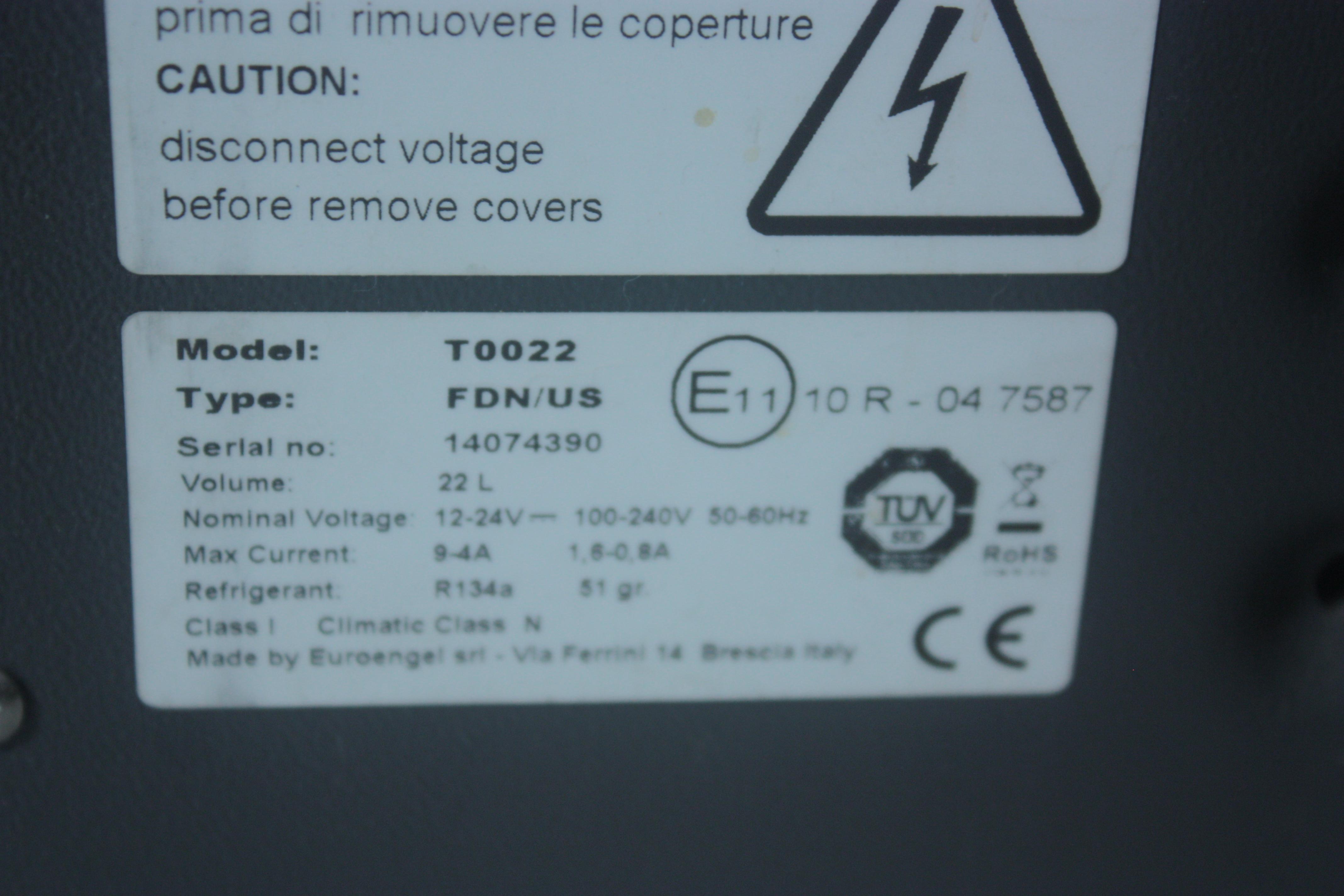 Caisson  Refrigere  EBERSPACHER