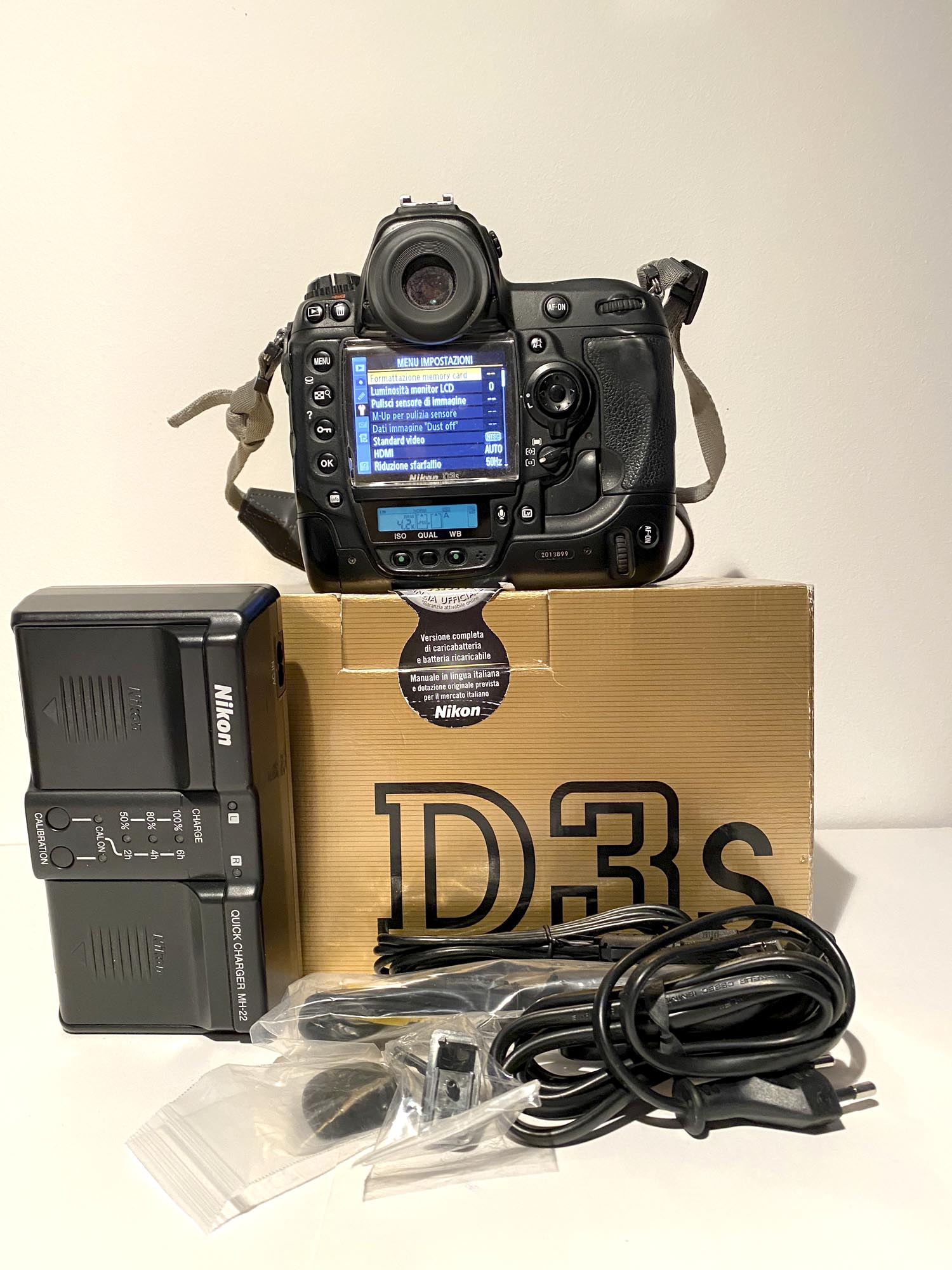 Boîtier sous-marin Sea & Sea MDX PRO D3 + Nikon D3S